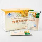 сосновая пыльца с кальцием, продукция new era, сосновая пыльца с молоком